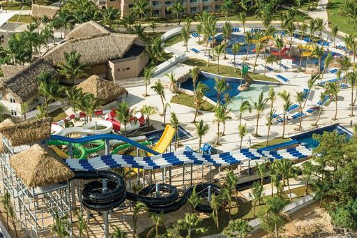 Luxe resort met zwemparadijs in Dominicaanse Republiek
