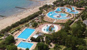 Mooi zwemparadijs in Italië