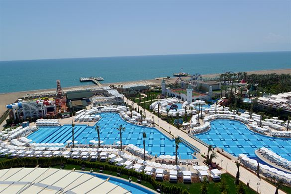 Luxe hotel in Turkije aan het strand