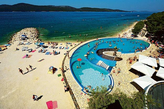 Camping met zwemparadijs Kroatië
