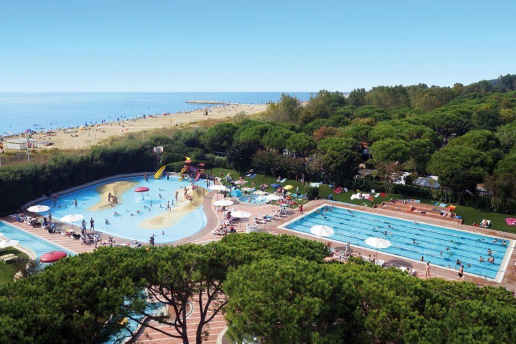 camping in Italië met zwemparadijs