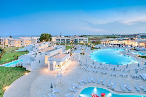 Privé zwembad in hotel Griekenland