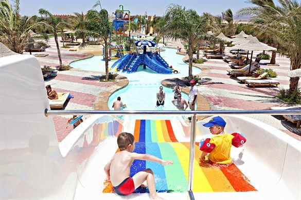 Resort Egypte met groot zwempark
