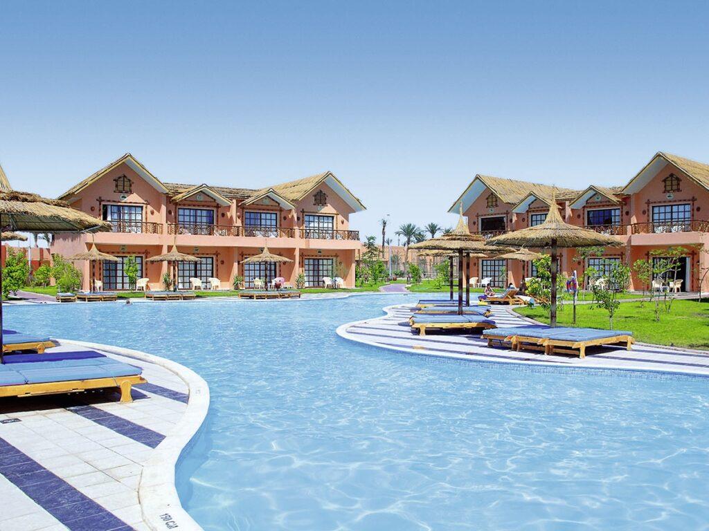 Leuk resort Egypte met groot aquapark