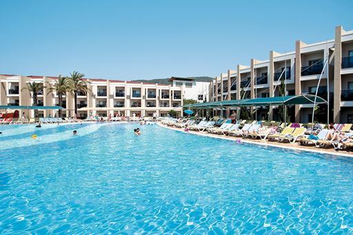 Hotel in Turkije met tropisch zwembad