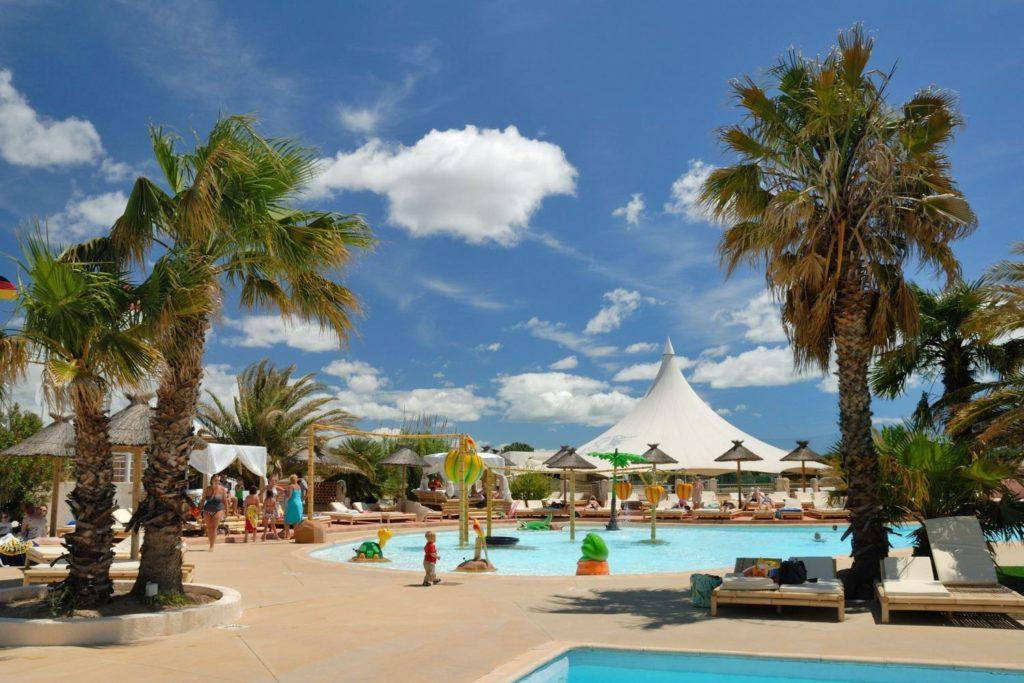 Camping Zuid-Frankrijk met groot zwemparadijs