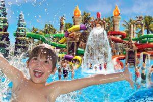Waterpark bij hotel op Mallorca