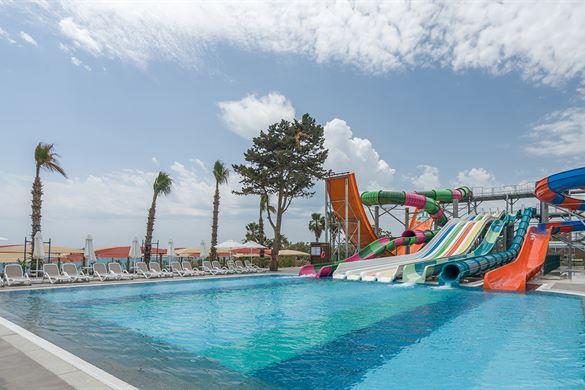 Zwemparadijs bij Hotel in Turkije