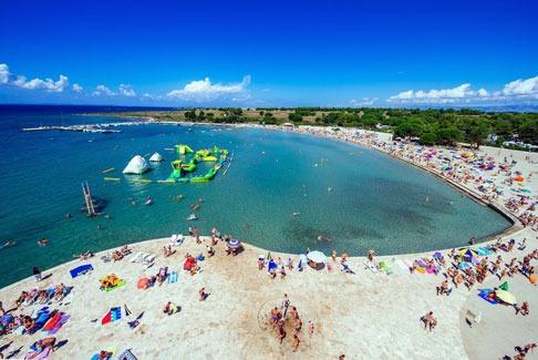 Camping in Kroatië met zwemparadijs