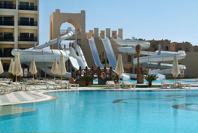 Familieresort Egypte met zwemparadijs