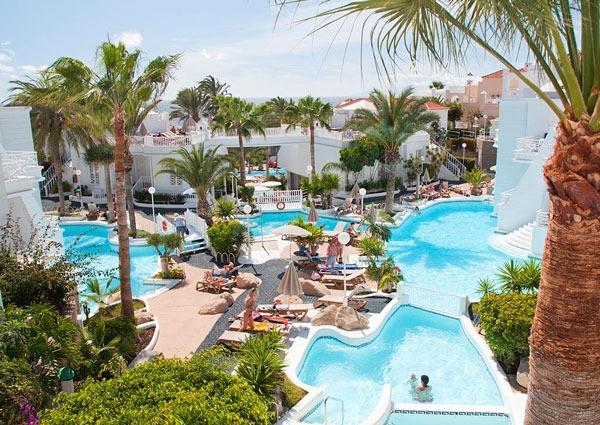 All-inclusive hotel in Tenerife met zwembaden