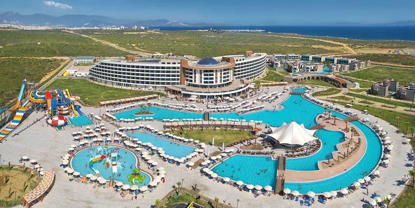 Luxe resort Turkije met aqua park