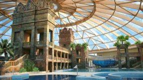Groot aquaresort in fantastisch hotel in Boedapest