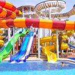Prachtig zwemcomplex in Turkije met veel glijbanen