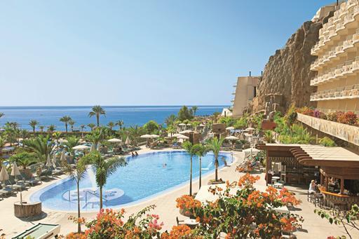 Groot zwemresort in Gran Canaria
