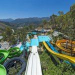 Geweldige zwembaden bij hotel in Kreta met veel glijbanen