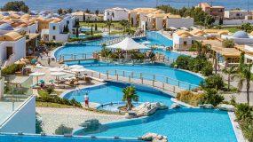 Fantastisch groot waterpark in Griekenland
