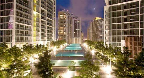 Hot tub voor 80 personen bij hotel in Miami