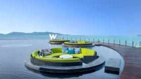 Schitterend hotel aan het strand in Thailand