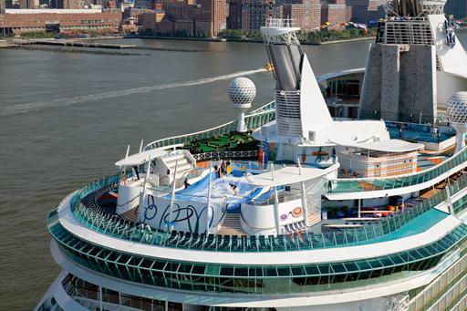 Luxe cruisevakantie met zwemparadijs aan boord
