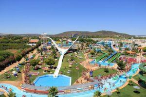 Mooi waterpark in Albufeira