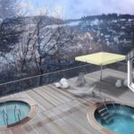 Wintersporten in Duitsland met zwemresort