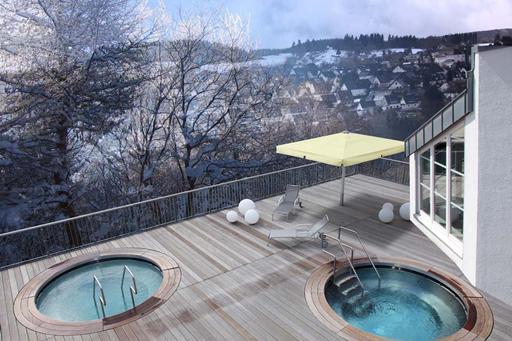 Wintersport Duitsland met zwembad