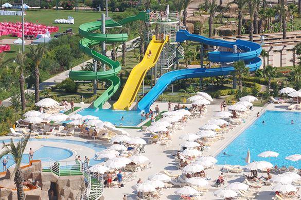 Resort Turkije met groot zwembad