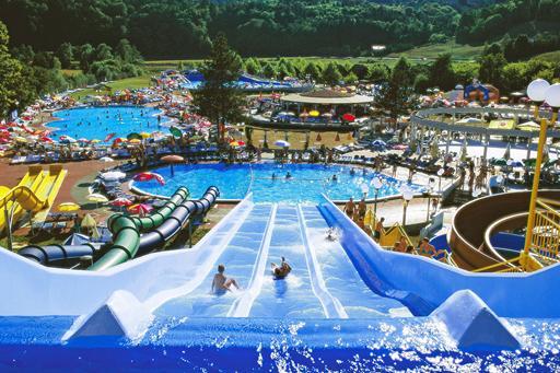 Gaaf zwemparadijs met veel glijbanen in Slovenië