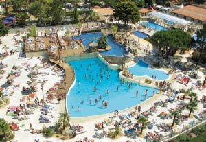 Camping met zwemparadijs Zuid-Frankrijk