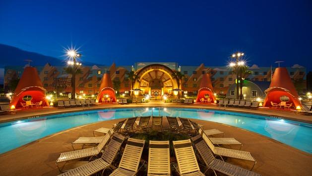 Hotel met zwembaden in Disney stijl
