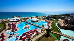 Volop waterspektakel bij all-inclusive hotel in Turkije