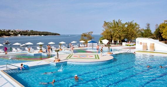 Zwemmen aan de Kroatische kust