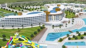 Net geopend resort in Turkije met mega zwemparadijs