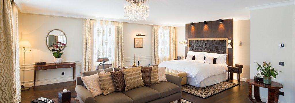 Wintersport in Zwitserland in luxe hotel