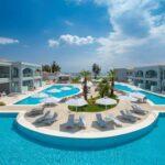 Privé zwembad in prachtig all-inclusive hotel in Griekenland
