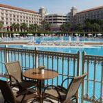 Profiteer van alle ruimte en grote zwembaden bij hotel in Turkije