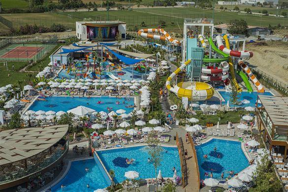 Schitterend aquapark bij mooi hotel in Turkije