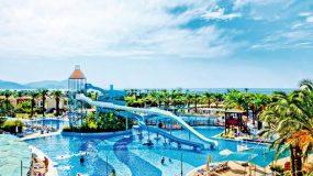 Mooi all-inclusive Tropical resort in Turkije