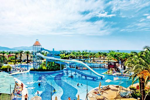 Mooi all-inclusive Tropical resort in Turkije