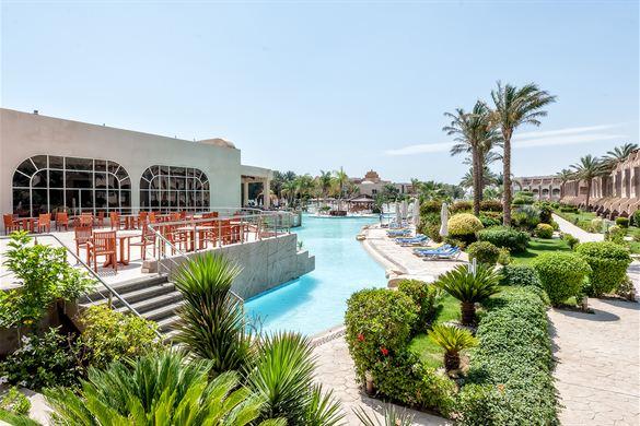 Heerlijk luxe vakantie met mooie zwembaden in Egypte