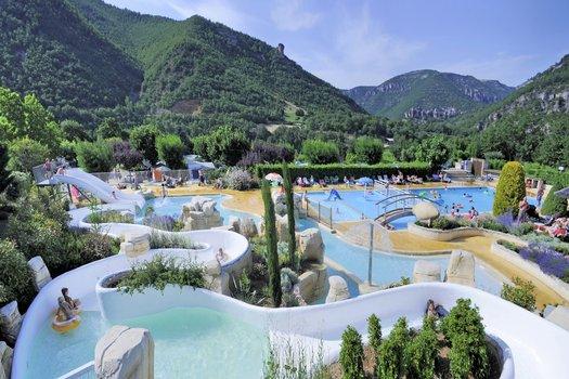 Prachtig aquapark op een schitterende locatie in Frankrijk