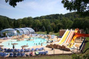Camping in Frankrijk met groot zwembad