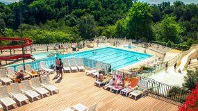 Prachtige zwembaden op leuke terrassencamping in Toscane