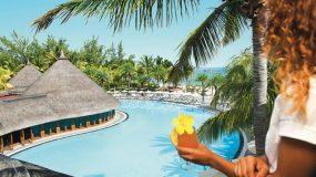 Luxe hotel met mooie zwembaden op Mauritius