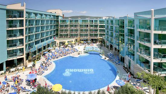 Het grootste zwembad van Sunny Beach