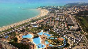 Hotel met groot waterpark in de buurt van Salou