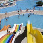 Talloze leuke glijbanen bij hotel in Turkije