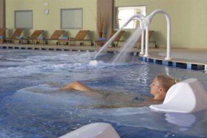 Het heerlijke wellnesscentrum bij het hotel op Rhodos in Griekenland