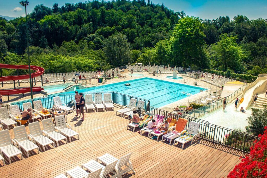 Familiecamping in Toscane met zwembaden